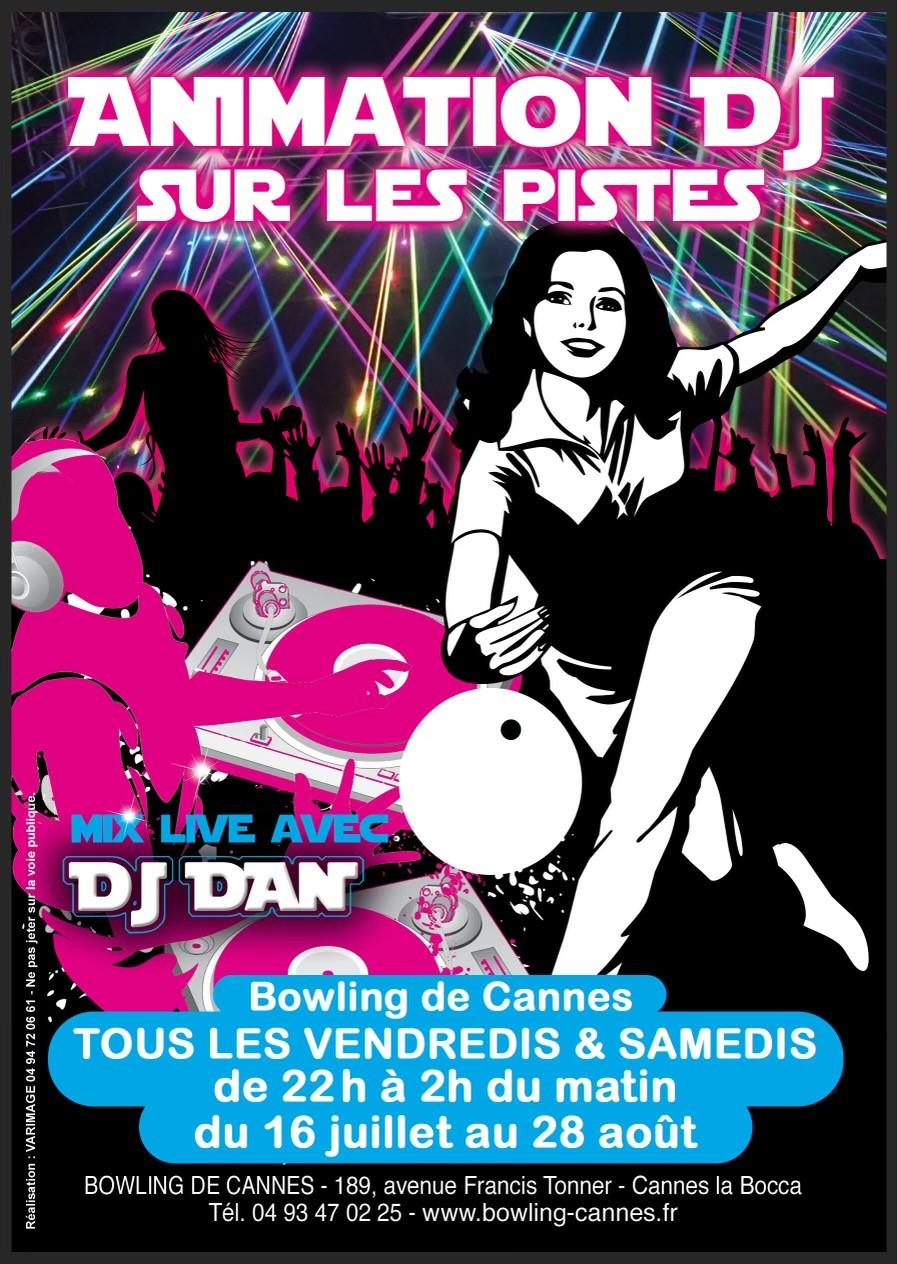 SOIRÉE DJ PARTY LES VENDREDIS ET SAMEDIS AU BOWLING